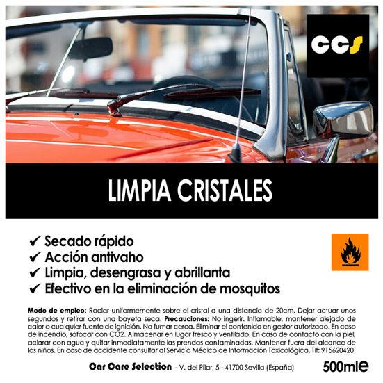 Limpia cristales para coche